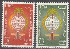 Libya #218-9 MNH F-VF  (SU3003)