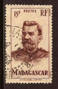 Malagasy  Republic  #  283  used
