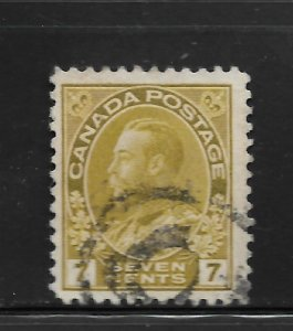 CANADA, 113, USED, KING GEORGE V