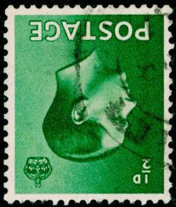 SG457Wi, ½d green, FINE USED, CDS. WMK INV