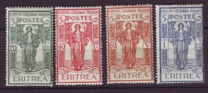 J19831 Jlstamps 1926 italy eritrea parts of set mh/mhr #b11,b14-6 peace