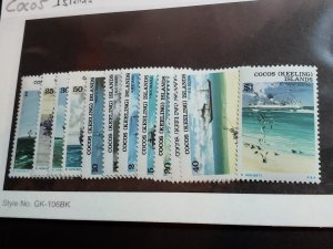 Cocos Islands Scott # 20-31 Mint Never Hinged!
