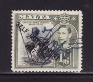 Malta 218 U King George VI, St Publius (C)