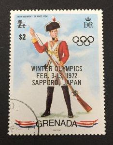 Grenada 1972 #439, Uniforms, Used