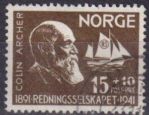 Norway #B21   F-VF Used CV $3.50  (Z6617)