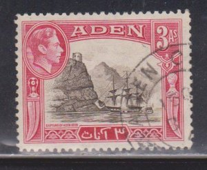 ADEN Scott # 22 Used - KGVI & Capture Of Aden