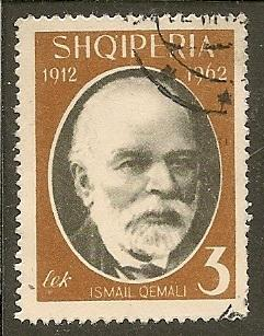 Albania     Scott  645   Qemali     Used