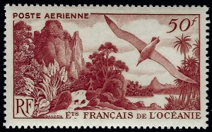 French Polynesia Sc C17 MNH VF...French stamps are in demand!