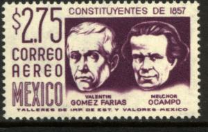 MEXICO C237A $2.75Pesos 1950 Definitive 2nd Printing wmk 300 MINT, NH. VF.