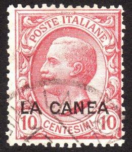 1907, Crete 10c, Used, Sc 15