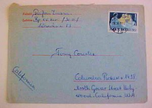 HUNGARY  1969 GVERMERVAROS US MOVIE STAR ONCE OWNED THIS COVER TONY CORTIS