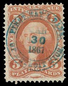 U.S. REV. FIRST ISSUE R28c  Used (ID # 82299)