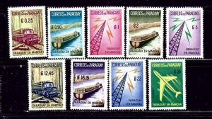 Paraguay 577-81 and C278-81 MNH 1961 set