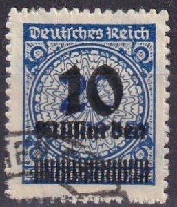 Germany #320 F-VF Usef CV $105.00 (Z5283)
