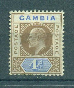 Gambia sc# 33 (1) mhr cat value $10.00