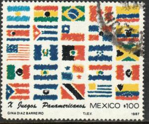 MEXICO 1506, Pan American Games USED. F-VF. (1356)