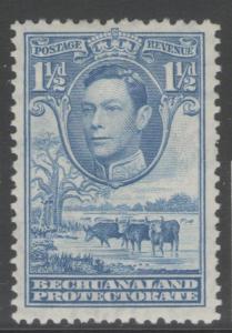 BECHUANALAND SG120 1938 1½d DULL BLUE MTD MINT