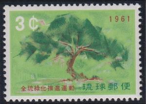 Ryukyu Islands 88 MNH (1961)