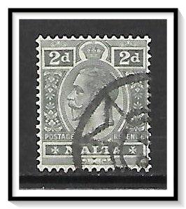 Malta #52 King George V Used