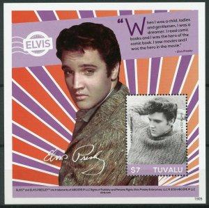 Tuvalu 2019 MNH Elvis Presley His Life in Stamps 1v S/S IV Music Celebrities