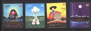 ARGENTINA 2015, POPULAR FEST VIII,MUSIC,COTTON,CHOCOLAT,SPACE YV 3076-9 MNH