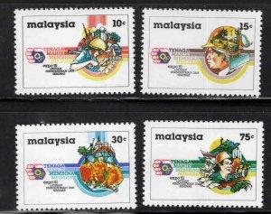 Malaysia Scott 221-224 MNH** set