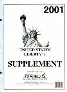 Lot of 8 U.S. H.E. Harris Liberty I Supplements Range 2001 - 2012 #140068 X