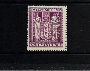 NEW ZEALAND  1931-58  12/6    ARMS   MLH     SG F156 Sc AR57