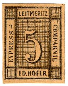 (I.B) Germany Local Post : Express Packet Post 5nkr (Ed Hofer)