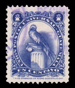 GUATEMALA STAMP 1954. SCOTT # 354. USED. # 12