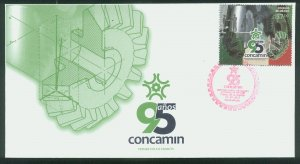 MEXICO 2831, 95th Anniv. Confed of Ind Chambers. CACHETED FIRST DAY COVER. F-VF.
