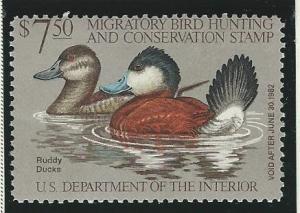 United States  Duck Hunting   MNH SC  RW48