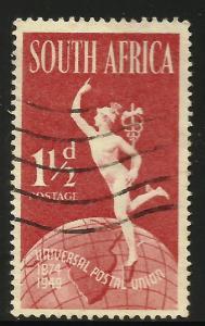 South Africa UPU 1949 Scott# 110a Used