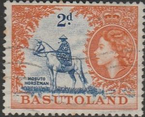 Basutoland, #48 Used From 1954