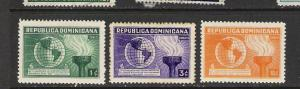 DOMINICAN REP. DOMINICANA 332-4 MOG 760G