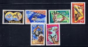 Chad 106-11 NH 1965 Animals