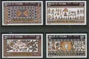 Wallis and Futuna C56-C59 MNH (1975)