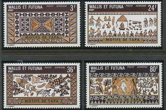 Wallis and Futuna C56-C59 MNH (1975)