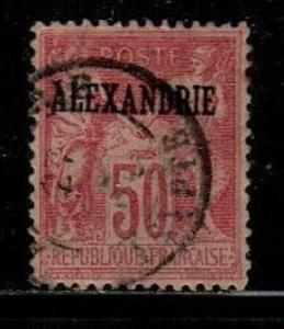 French Offices in Alexandria Scott 12a Used VF (Catalog Value $27.50)
