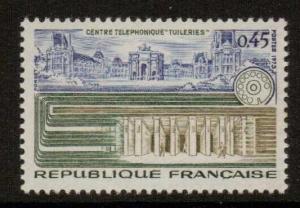 FRANCE SG1997 1973 TECHNICAL ACHIEVEMENTS 45c MNH