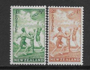 New Zealand B16-17  1940  set 2  VF  NH