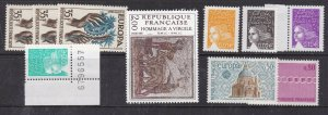 FRANCE^^^^OLDER  x10   MNH  ( TOPICALS ) @x dccc105fr