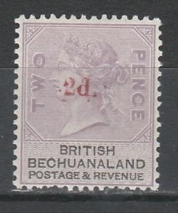 BECHUANALAND 1888 QV 2D ON 2D