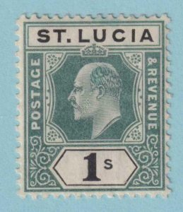 ST LUCIA 55  MINT HINGED OG * NO FAULTS VERY FINE!