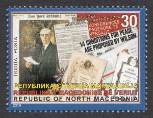 Macedonia 2019 100 years Paris Peace Conference Treaty of Versailles France WW1