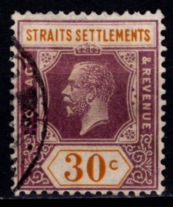 Straits Settlements 1921 George V Definitive, 30c [Used]