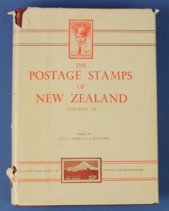 LITERATURE New Zealand: The Postage Stamps of, Vol 6, pub RPSNZ