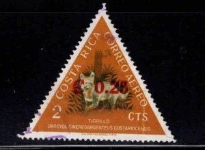 Costa Rica Scott C368 Used surcharged airmail