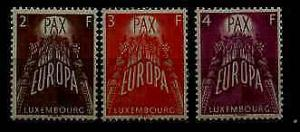 Luxembourg 329-31 MNH United Europe SCV78