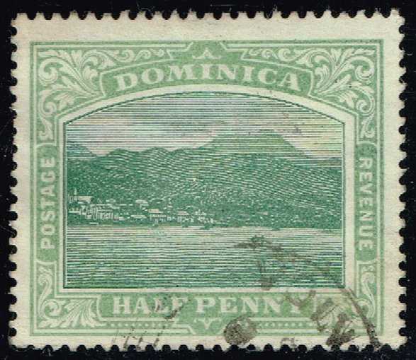 Dominica #25 Roseau; Used (3Stars)